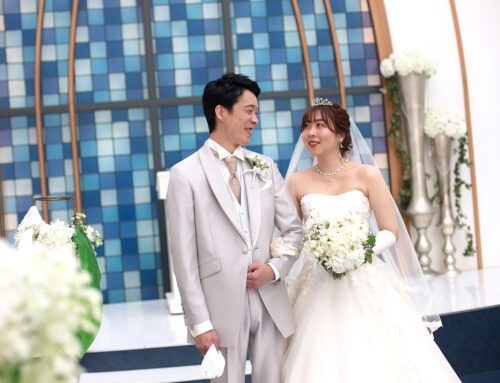 素敵な結婚式を挙げることができました!